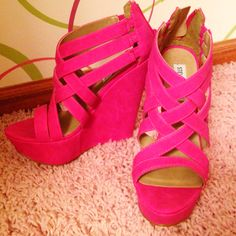Steve Madden wedges <3