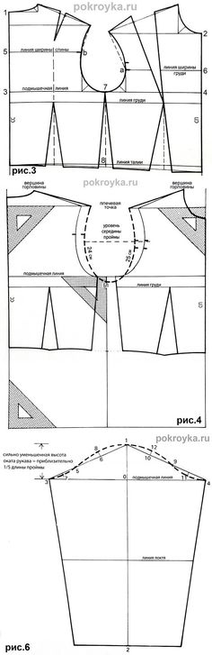 Okato basic bodice pattern a little free-form...♥ Deniz ♥