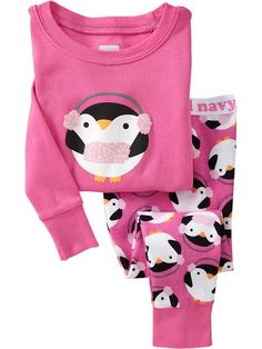 Old Navy | Penguin-Graphic PJ Sets for Baby