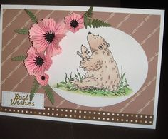 Smell the flowers I Card, Flowers, Projects, Log Projects, Blue Prints, Royal Icing Flowers, Flower, Florals, Floral