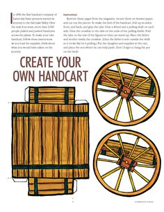 print and assemble handcart