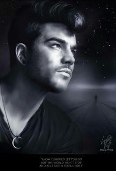 "After 1 long year, I'm here with NEW Adam artwork called ""Another Lonely Night""."