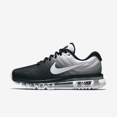 finest selection 88d44 b3a27 Chaussure Nike Air Max 2017 Pas Cher Femme Noir Blanc Chaussures Nike 2017,  Chaussures Femme