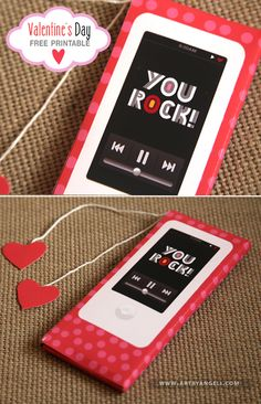 Free-Valentine-iPod candy bar wrapper