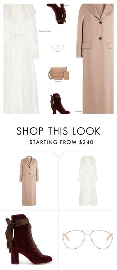 """Untitled #3816"" by amberelb ❤ liked on Polyvore featuring Merchant Archive, Chloé and Valentino"
