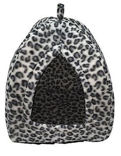 Pet hut cat dog #rabbit bed igloo soft warm #thermal fleece winter luxury #basket,  View more on the LINK: http://www.zeppy.io/product/gb/2/121927554699/