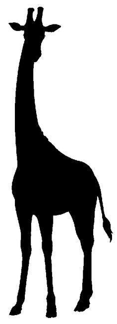 giraffe silhouette - Google Search