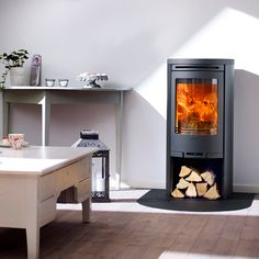 Contura 510 Stove - Contura 510:1. The basic model in the 500 series is the Contura 510. Its clean lines and functional design make this efficient source of heat the natural focal point in any home. Subtly rounded lines are the hallmark of the Contura series.