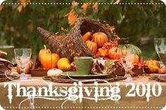 thanksgiving tablescape - Google Search