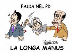 #IoSeguoItalianComics #impresentabili #Bindi #DeLuca #satira #pd