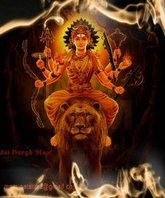233 Best Jai Durga Maa For Watsapp photos by lakshitaaggarwal Shri Hanuman, Durga Maa, Shiva Shakti, Indian Gods, Indian Art, Hindu Deities, Hinduism, Navratri Greetings, Navratri Images