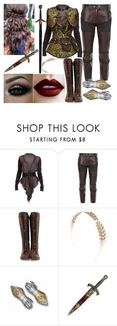 """""""Rhiannon"""" by aussie-wannabe ❤ liked on Polyvore featuring Elizabeth and James, Junya Watanabe, John Fluevog, Wet Seal and KING"""
