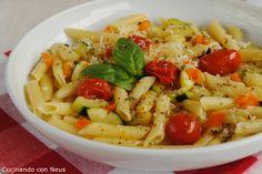 Cocinando con Neus: Macarrones con verduras