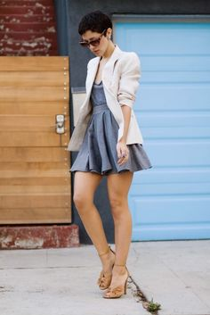 Fantastic blazer with a great outfit. Karla strikes again!