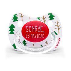 Chupete edición especial Navidad 2013 #suavinex http://shop.suavinex.com/producto/chupetes/navidad-abetos.html