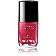 Ashlie Johnson recommends CHANEL Le Vernis Nail Color in Rouge Carat. For more tips visit http://www.beautybloggingjunkie.com/2012/04/get-look-kristen-stewarts-nails-at-kids.html