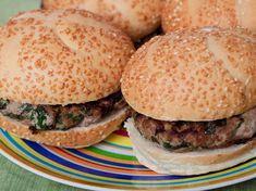 Feta-Spiked Turkey Burgers | Cookstr.com