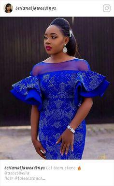 Likes, 9 Comments – Aso Ebi Styles (Aso Ebi Bella) on Insta… Diyanu - Aso Ebi Styles African Fashion Ankara, Latest African Fashion Dresses, African Print Fashion, Africa Fashion, African Attire, African Wear, African Women, African Lace Styles, African Lace Dresses