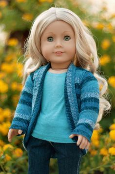 trendy slouch cardigan doll | dolls doll clothes and doll houses...