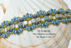 PDF Beading Tutorial Beading Instructions Seed Bead by mybeads4you