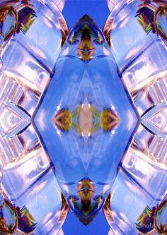 Sky Blue Glassy Diamond BethofArt