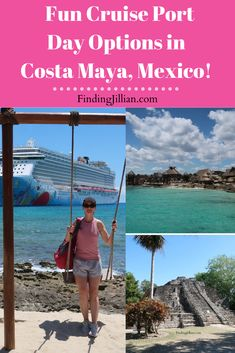 Do you have a cruise port day scheduled for Costa Maya? You're in luck! There are so many ways to enjoy a fun port day in Costa Maya (Mahahual, Mexico). If you are looking for things to do in Costa Cruise Excursions, Cruise Destinations, Cruise Port, Shore Excursions, Cruise Tips, Cruise Travel, Cruise Vacation, Costa Maya Excursions, Vacation Shirts