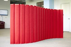 This mini version of our popular VersiPanel Acoustical Room Divider is perfect for daycare, nursery, or preschool application. The VersiPanel Jr. is 4ft tall, with soft panels that not only dampen sound but are also fully-tackable, making this a perfect portable art wall for displaying students' work.
