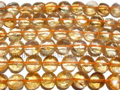 Coin Faceted Beads Citrine Beads Quality AA 6.50 to 7.50 #citrine #citrinebeads #citrinebead #citrinecoin #coinbeads #beadswholesaler #semipreciousstone #gemstonebeads #beadsogemstone #beadwork #beadstore #bead