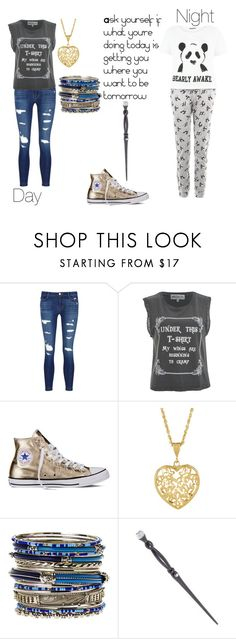 """""""Mirror ~ Isabelle Black (First Year)"""" by angel-mae-dreams ❤ liked on Polyvore featuring J Brand, Wildfox, Converse, Amrita Singh, Swarovski and New Look"""