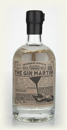 The Gin Martini  - The Handmade Cocktail Co.
