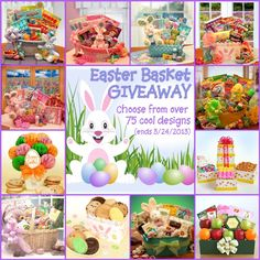 Enter to win an $80 Easter Basket today!