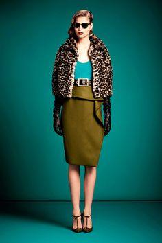 Tendencias Guia Estilo PreFall 2014 temporada de entretiempo - Gucci Old Hollywood