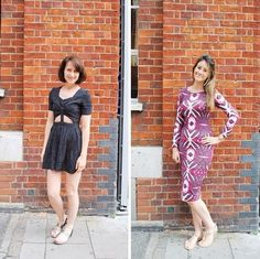 Here's this week's #PushWears! Kat and Naomi rocking out their summer dresses!