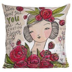 Cori Dantini Dear Sweet Girl Pillow