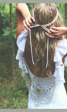 Boho Style Wedding / Matrimonio in stile Hippy Bohemiene Hippie Chic, Hippie Style, Estilo Hippie, Gypsy Style, Bohemian Style, Mode Inspiration, Wedding Inspiration, Wedding Ideas, Wedding Details