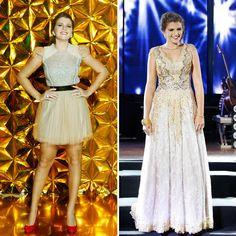 Vestido esquerda: Patrícia Bonaldi Vestido direita: Lethicia Bronstein Fotos: J. Adilson