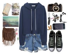 """""""#213"""" by sophielori13 ❤ liked on Polyvore featuring MANGO, Converse, Nikon and Glamorous"""