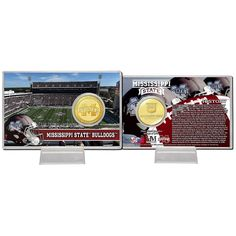Mississippi State University Bronze Coin Card