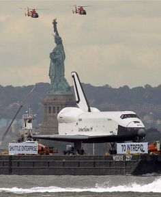 The space shuttle Enterprise …a beautiful piece of engineering!