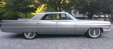 """crazyforcars: """" 1964 Cadillac Sedan DeVille """" As Cadillac was the father of fins it held onto them beyond other brands. 1959 Cadillac, Auto Retro, Rims And Tires, Cadillac Fleetwood, Drag Cars, Us Cars, Sexy Cars, Car Photos, Buick"""