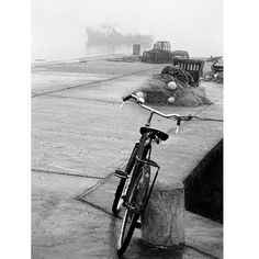 Bike on Pier, Crookhaven, West Cork 1988 Beast From The East, West Cork, Black And White Landscape, Photography Gallery, Heaven On Earth, Landscape Photographers, Norman, Rome, Ireland
