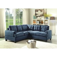 Found it at Wayfair - Amberwood Sectional Fabric Sectional, Corner Sectional, Leather Sectional, Sectional Sofas, Furniture Deals, New Furniture, Best Sectionals, Contemporary Side Tables, Reclining Sectional