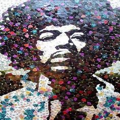 Jimmy Hendrix crafted form guitar picks.