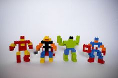 Lego fun for the boys! The Avengers by Meet The Chumbeques, via Flickr