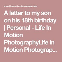 letter to my son on his birthday the world s catalog of ideas 13669 | 17881cd8d14f11fac5d524554fa87df1