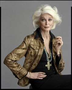 Carmen D'elorefice. Distinguida y con estilo. Chic style.