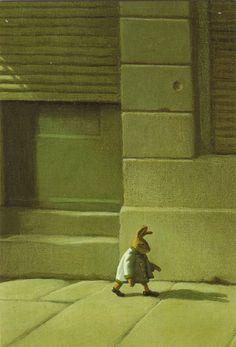 """Illustration by Michael Sowa for """"Esterhazy, The Rabbit Prince"""" by Irene Dische and Hans M. Enzensberger."""