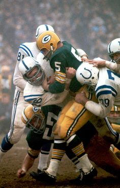 Paul Hornung - Green Bay Packers: Pure Magic, the colors, the number,  the helmuts, the teams, and Hornung!