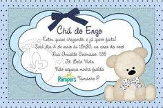 Convite para Chá de Bebê Virtual – Convite Chá de Fraldas Online – Modelos de Convite