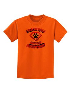 TooLoud Rescue Dogs - Superpower Childrens T-Shirt
